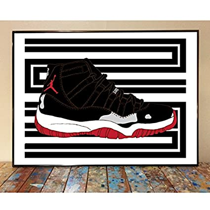 brand new 1776e 3a654 Image Unavailable. Image not available for. Color  Air Jordan 11 Bred ...
