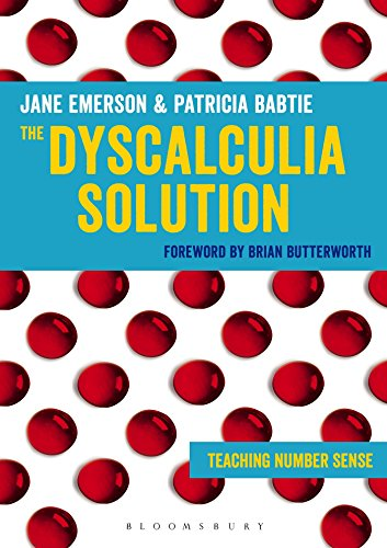 The Dyscalculia Solution: Teaching number sense (Teaching Number Sense compare prices)