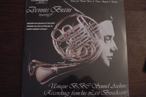 - DENNIS BRAIN DUETS FOR FRENCH HORN & PIANO- MOZART & BRAHMS