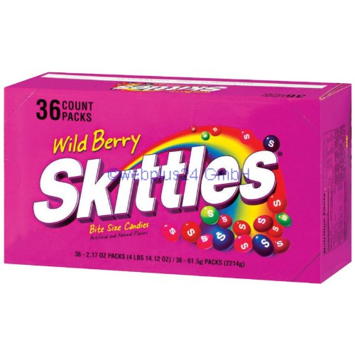 Skittles Bite Size Wild Berry Candy Single