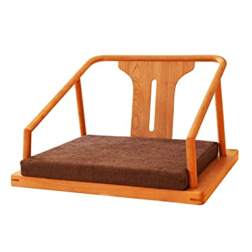 Chaise Méditation De Yoga Pliante BoisFauteuil Sol En 80vwNmn