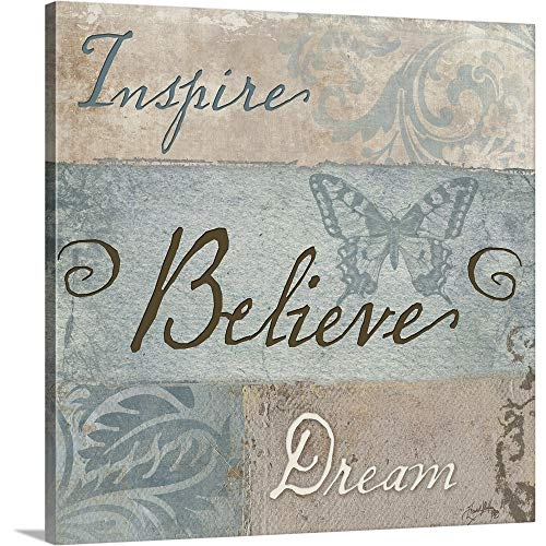 Inspiration I Canvas Wall Art Print, 12