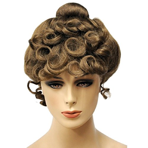 Lacey Wigs Gibson Girl Wig - Victorian Lady Wig