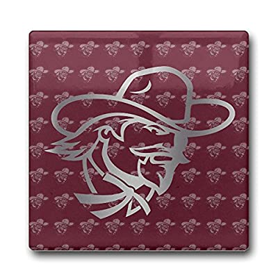 Eastern Kentucky Colonels Platinum Logo Coasters Cork Pat Mat