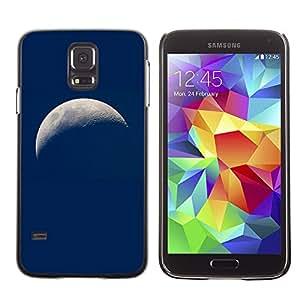 El viaje a otra tierra - Metal de aluminio y de plástico duro Caja del teléfono - Negro - Samsung Galaxy S5