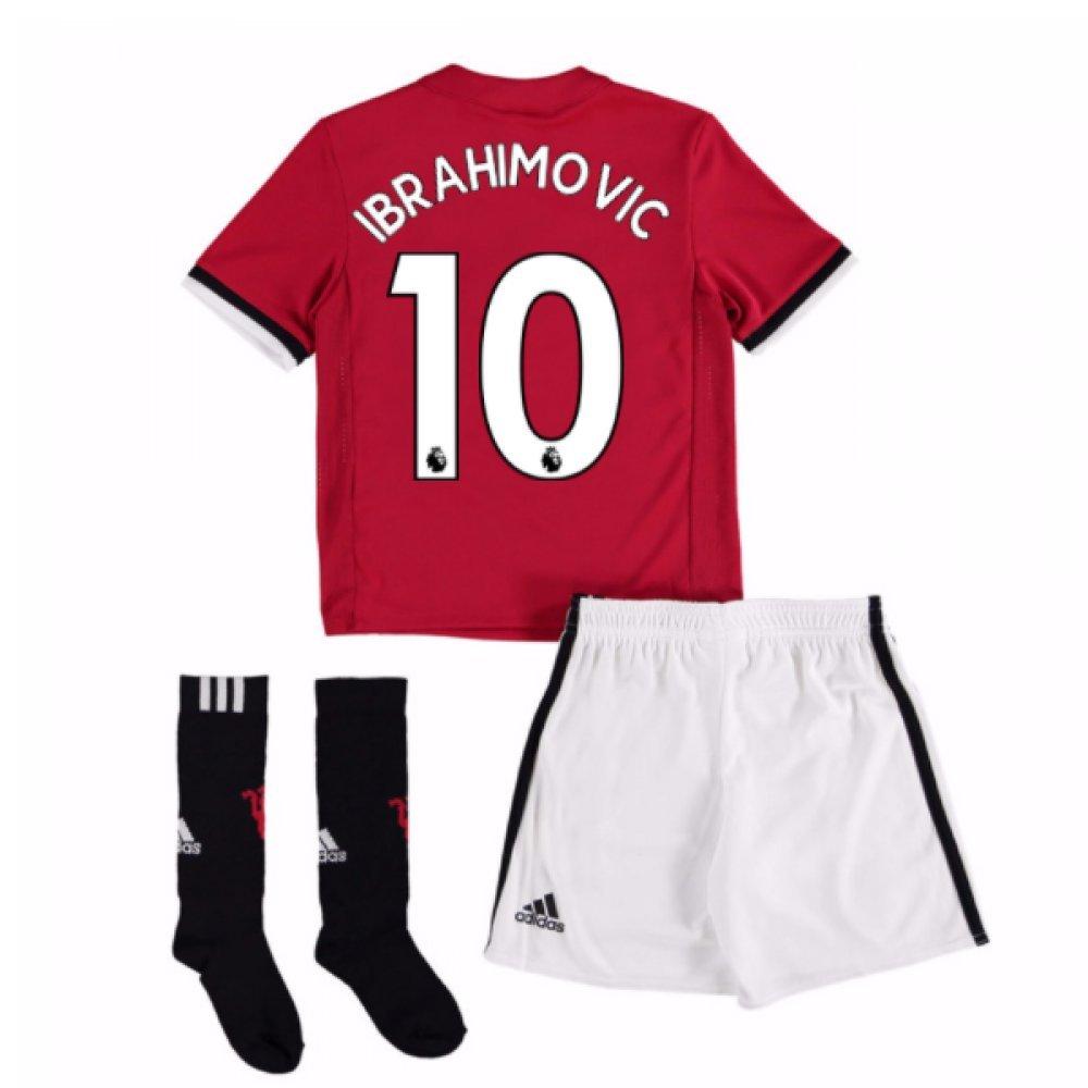 UKSoccershop 20Zlatan Ibrahimovic 107-Zlatan Ibrahimovic 108 Man United Home Mini Kit (Zlatan Ibrahimovic 10)