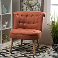 Christopher Knight Home 299778 Cicely Accent Chair, Orange