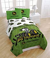 "John Deere "" Big Tracks"" Twin Sheet Set"