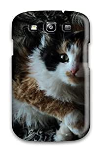 cody lemburg's Shop New Fashion Premium Tpu Case Cover For Galaxy S3 - Cat With Wild Hair 3236156K79394686