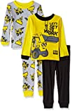 Bob the Builder Boys Toddler Scoop 4-Piece Cotton Pajama Set