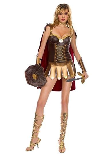 Amazon.com: music legs Sexy romanos atuendo Warrior mujer ...