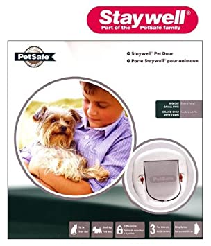 Staywell 280EFS - Gatera (para gatos grandes), color blanco: Amazon.es: Jardín