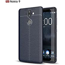 Nokia 8 Sirocco Case, TopACE [Shock Absorption] Flexible TPU Soft Skin Silicone Cover for Nokia 9 / Nokia 8 Sirocco (Blue)