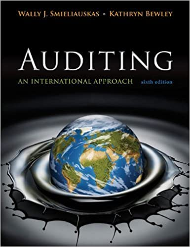 Auditing an international approach wally smieliauskas kate bewley auditing an international approach wally smieliauskas kate bewley 9780071051415 books amazon fandeluxe Images