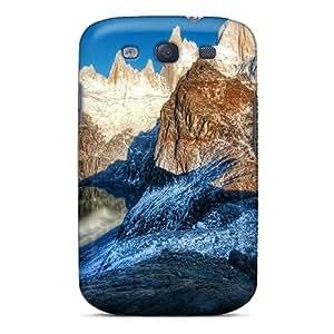 Excellent Design Mountain Rocks Lscape Phone Case For Galaxy S3 Premium Tpu Case