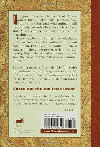Akimbo and the Elephants by Bloomsbury USA Childrens