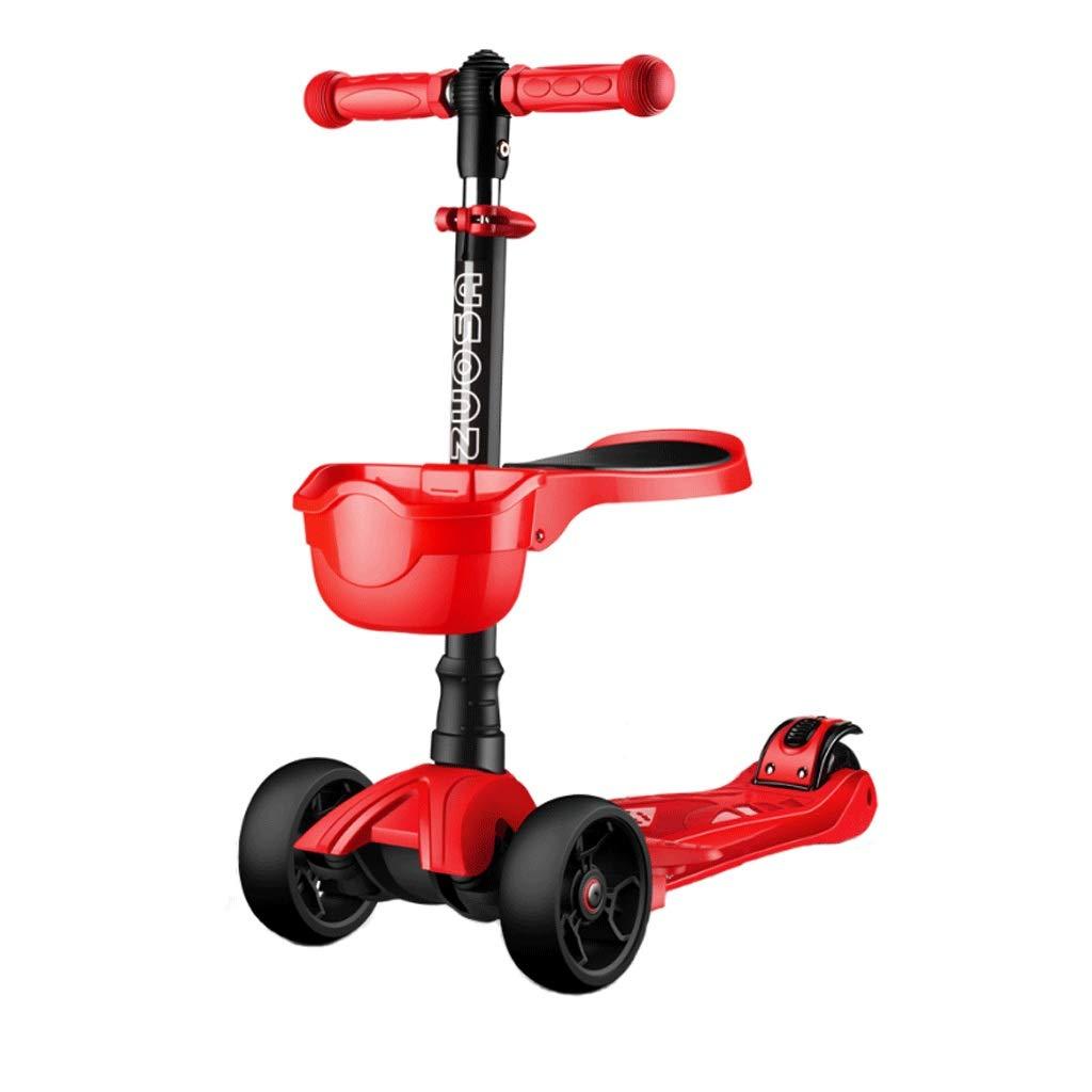 最安値級価格 WangYi サイズ スケートボード- 子供用スクーター26歳の男の子と女の子用スクーター 55x14x72cm (色 : Red, サイズ さいず : : 55x14x72cm) B07NML7GK5 Red 55x14x72cm, タカトリチョウ:e5eee748 --- a0267596.xsph.ru