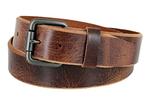 Genuine Vintage Leather Roller Buckle