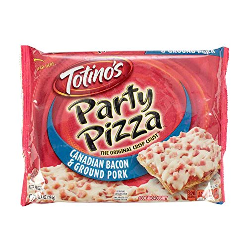 Totinos Canadian Style Bacon Party Pizza, 10.4 Ounce -- 14 per case. ()