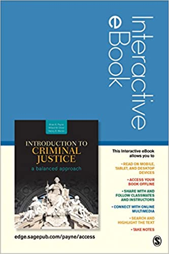 Introduction to criminal justice interactive ebook student version introduction to criminal justice interactive ebook student version a balanced approach 1st edition fandeluxe Image collections