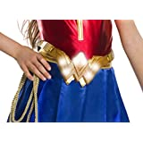 Rubie's Costume Girls Justice League Wonder Light-Up Belt Costume, One Size