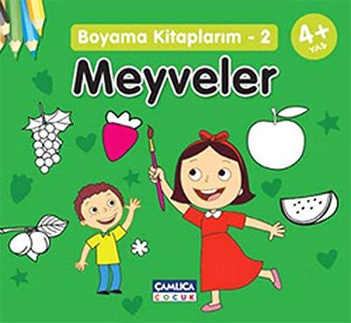 Meyveler Boyama Kitaplarim 2 Bilal Gezer 9786054421909 Amazon