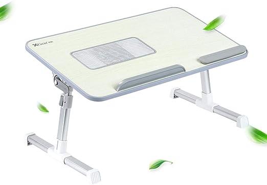 mesa plegable Mesa portátil para computadora portátil, Lectura ...