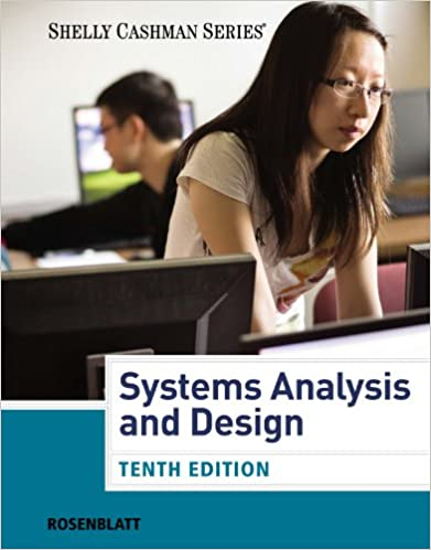 Rosenblatt S Systems Analysis And Design 10th Edition Plus 6 Months Instant Access To Coursemate 1 Rosenblatt Harry J Ebook Amazon Com