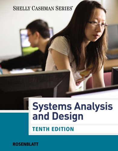 Download Rosenblatt's Systems Analysis and Design, 10th Edition plus 6-months instant access to CourseMate. Pdf