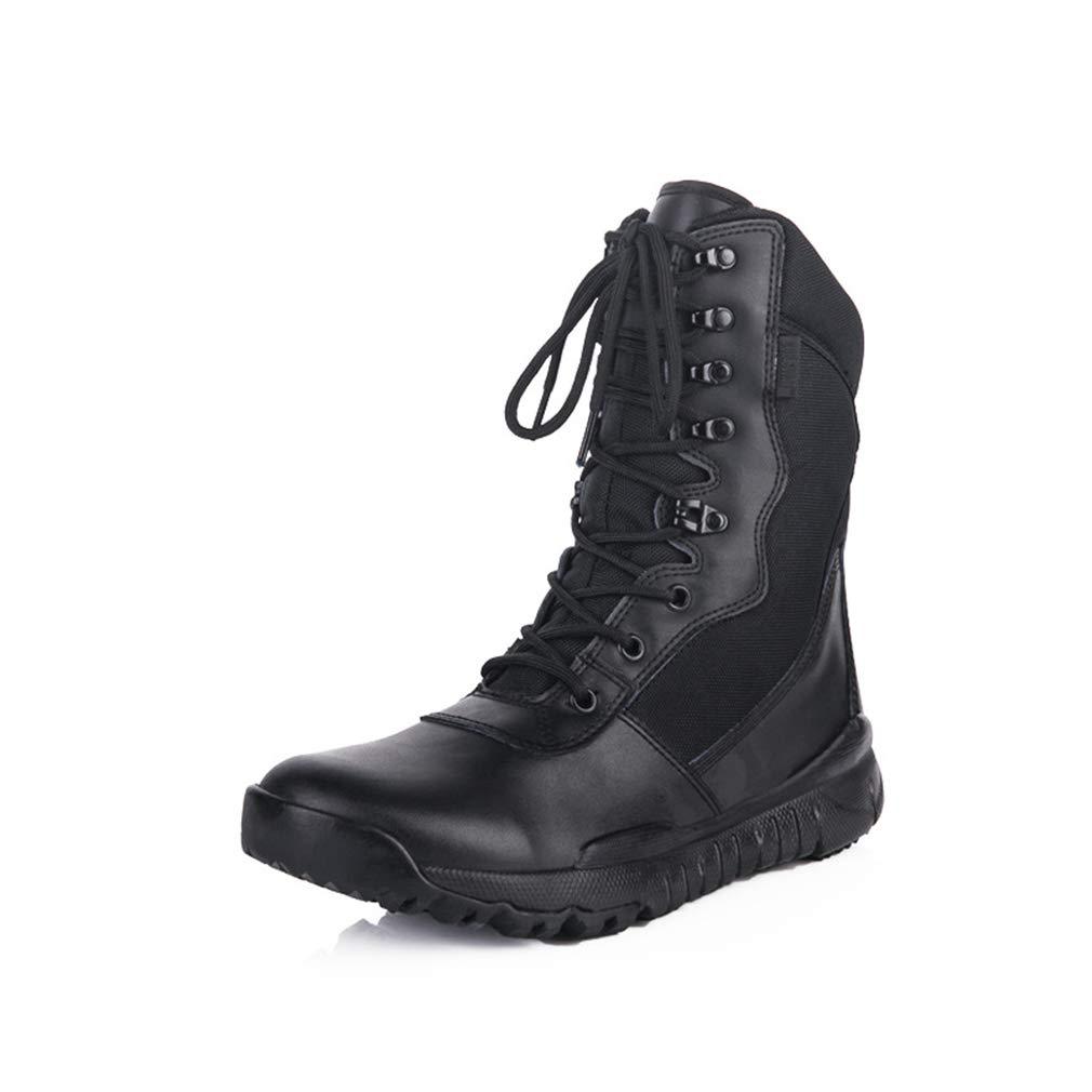 Hy Herren-   Damen-Wanderschuhe, Dicke untere Komfortkletterturnschuhe, Laufschuhe für den Außenbereich, Werkzeugschuhe (Farbe   Schwarz, Größe   46)