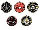 NFL Team Logo Bottle Cap Wall Clock Man Cave Accessories Assorted Teams