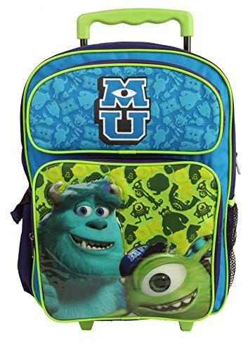 "Monster University 16"" Rolling Backpack - MU OK Large Boy..."