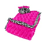 Luxe Gift Set - Zahara Zebra Blanket And Booties