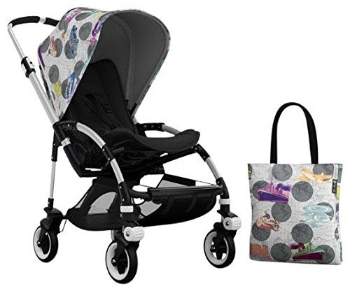 Bugaboo Bee3 Accessory Pack - Andy Warhol Transport/Dark Grey (Special Edition)