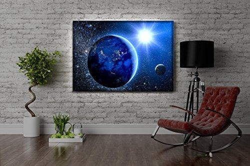 Leuchtbild-LED-Leinwandbild-mit-Farbwechsel-Erde-im-Weltall-MADE-IN-GERMANY