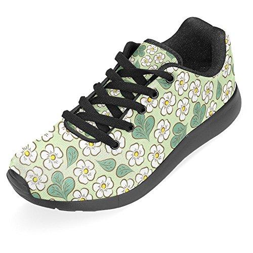 Interestprint Kvinna Jogging Kör Sneaker Lättvikts Gå Gång Casual Komfort Sports Löparskor Multi 5