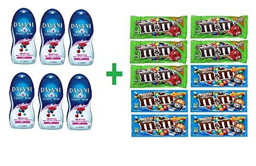 dasani-drops-mixed-berry-flavor-enhancer-19-oz-pack-of-6-10-pack-mix-mm-chocolate-169oz-bundle