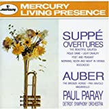 Cover of Suppe, Auber: Overtures