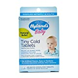Hyland Homeopathic Baby Tiny Cold Tablets, 125 Count