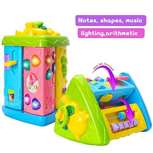 HOMOFY Baby Toys Musical Learning Table 6 Months up Early Ed