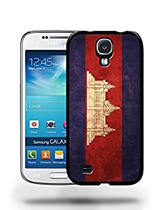 Cambodia National Vintage Flag Phone Case Cover Designs for Samsung Galaxy S4