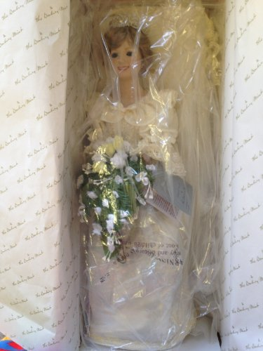 (Danbury Mint Vintage Princess Diana Bride Doll: Commerative Edition 1986)