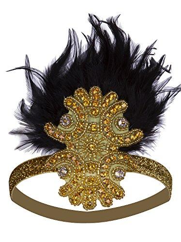 Headband Inspired Art Deco Accessories Great Gatsby Headpiece ()
