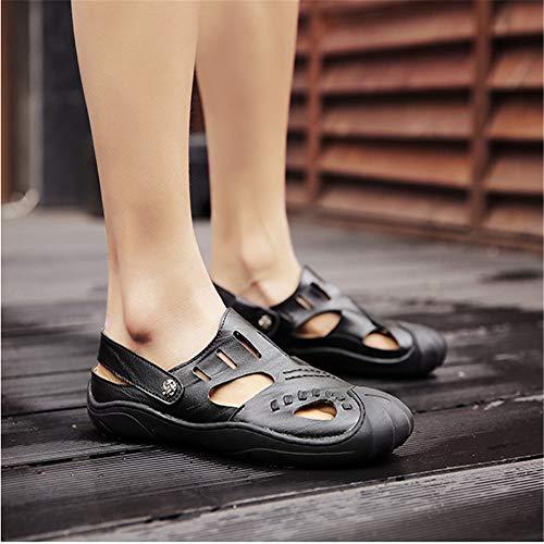 Libre 1 Cm Eu 24 Deportes Para 3 39 color 27 Patín Zapatos Sandalia Negro Transpirable Negro Aire Hombres 5 Al 0 Tamaño Ocio wXvH64