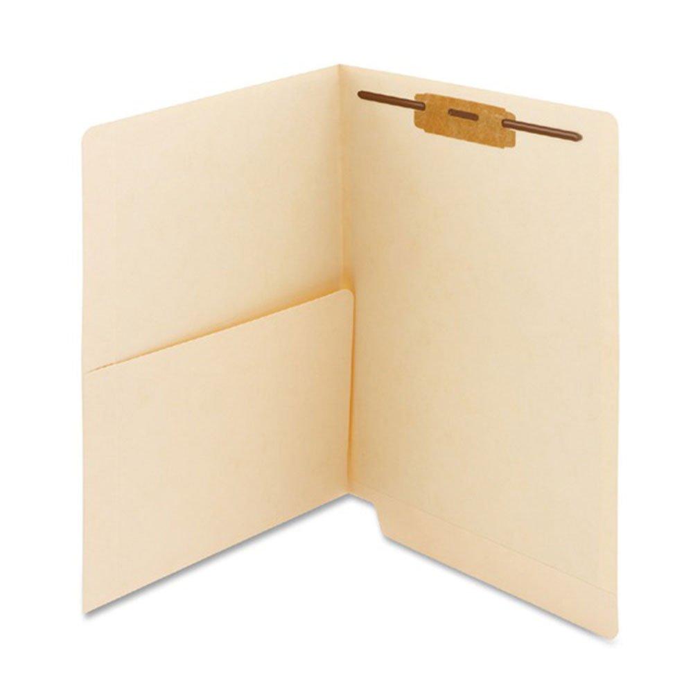 PDC Healthcare ETF144 End Tab Folder, 2-ply, FAS #1, 11Pt Manila, Half Pocket on Left Side, 12 1/4 x 9 1/2 (Pack of 250)