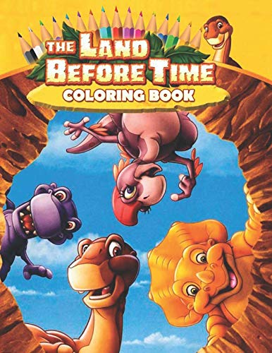 The Land Before Time Coloring Book: 25 Exclusive Illustrations