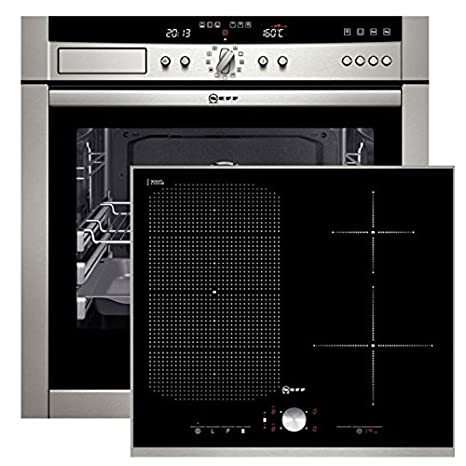 Neff steam62 empotrable del Horno + Inducción hobs flexind uction ...