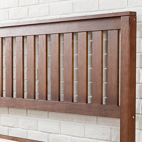 Zinus 12 Inch Solid Wood Platform Bed With Headboard No
