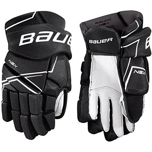 Bauer NSX Hockey Gloves (12 Inch - - Hockey Black Gloves Junior