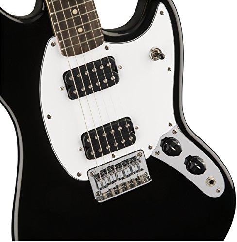 Fender Jaguar Sweetwater: Fender 6 String Bullet Mustang Electric Guitar-HH-Rosewood
